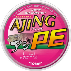 Toray Salt Line Ajing PE No. 0.3-150 m