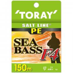 Toray Salt Line PE Sea Bass F4 0.8