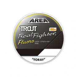 Toray new Trout real fighter Fluoro 100 m 1.25 Lb